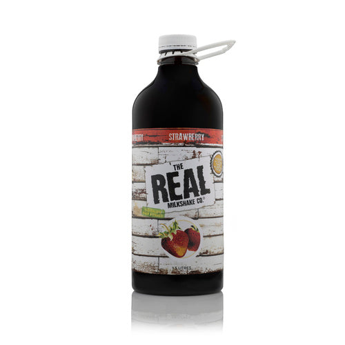 Strawberry Milkshake Syrup 1.5lt Bottle The Real Milshake Co