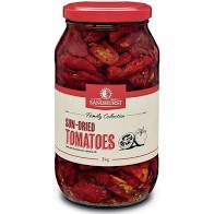 Sundried Tomatoes Whole 2kg Jar Sandhurst
