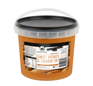 Sweet Potato Cashew Dip 2kg Tub (Call Office For Availability) Black Swan