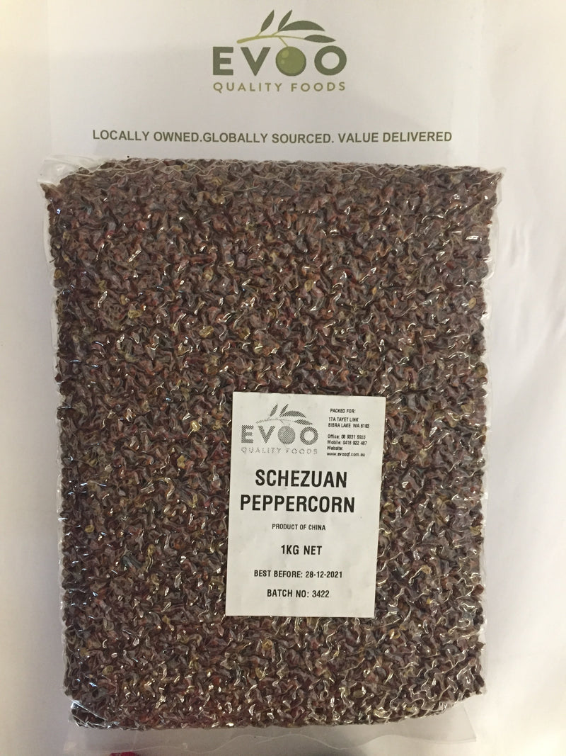 Szechuan Whole Red Peppercorns 1kg
