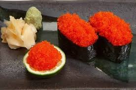 Japanese Red Tobiko (flying fish roe) 500gm