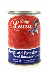 Bella Lucia Tomatoes Peeled 400gm tin