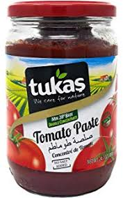 Tomato paste 700gm jar Tukas
