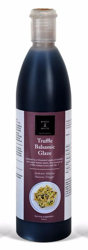 Truffle Balsamic Glaze 500ml Bottle Birch & Waite
