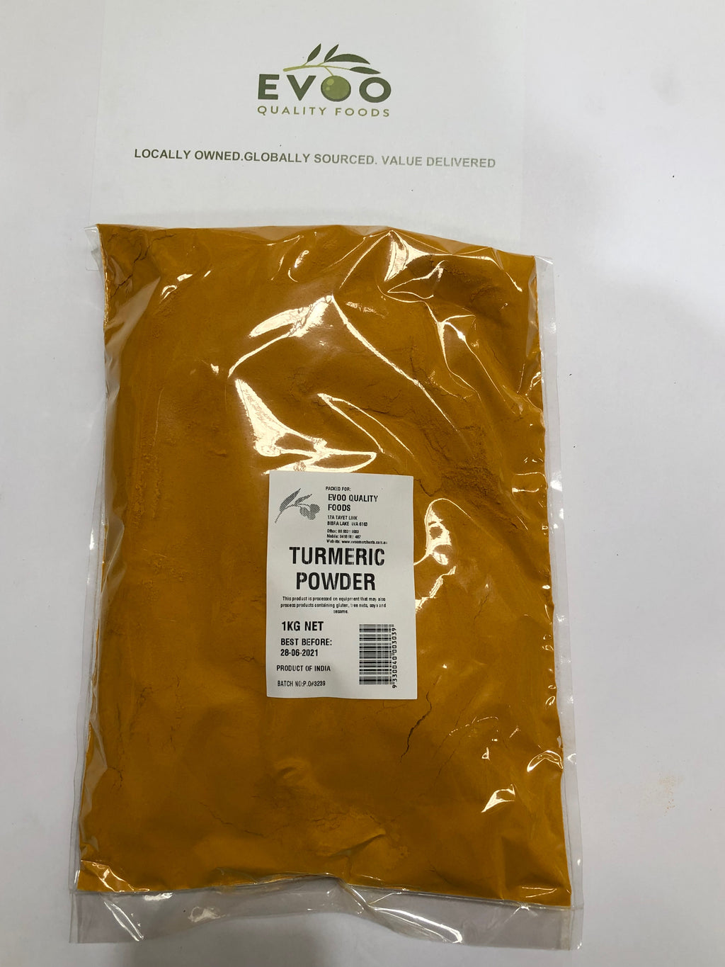 Turmeric Ground 1kg Bag