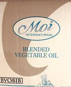Vegetable Oil Blended 20lt BIB Moi