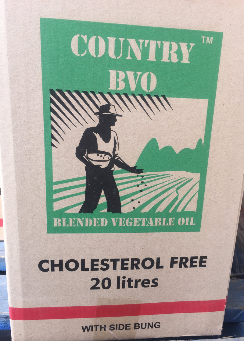 Vegetable Oil 20lt Tin (MQ) Country BVO