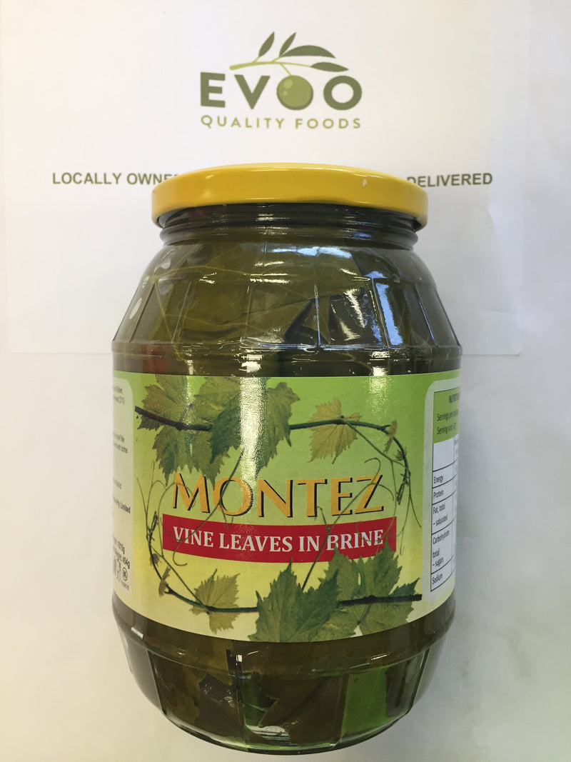 Vine Leaves in Brine 1kg Montez