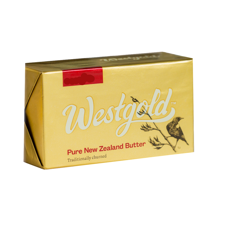 Salted Butter 1kg Block (West Gold)