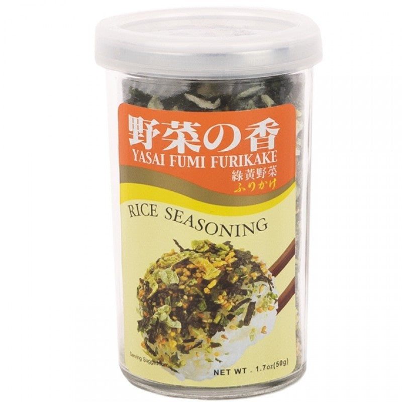 Rice Seasoning Yasai Fumi 50g Furikake (Orange Label)