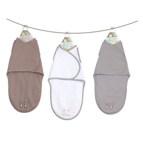 Baby Swaddle Blanket Double Layer Newborn Baby Envelope