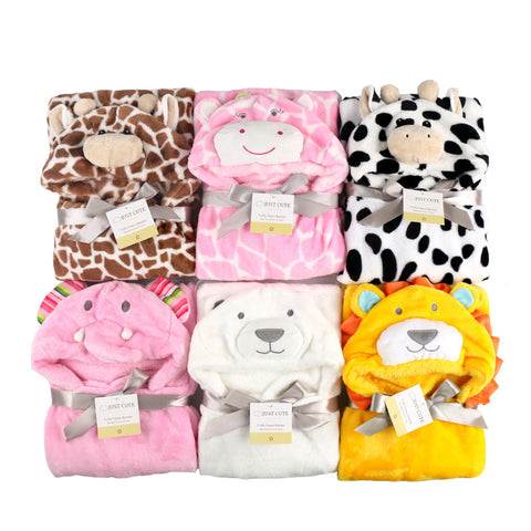 3D Hooded Blanket Swaddling For Toddlers