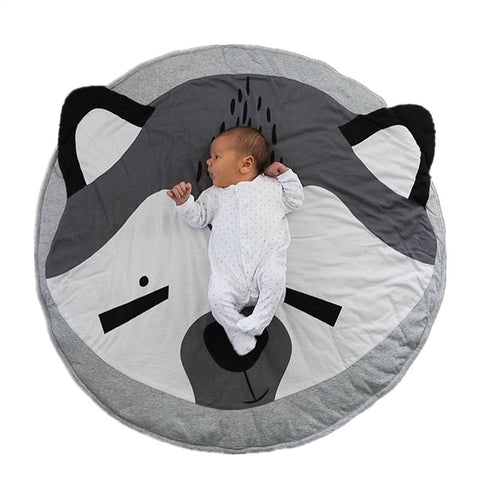 Baby Blanket Round Play Mats 100% Cotton