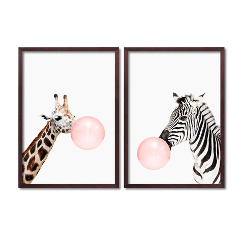 Bubble Animal Living Room Wall Art