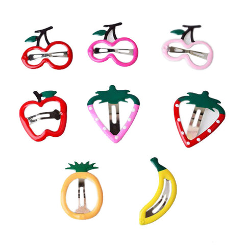 Colorful Fruit Barrettes Girl Hairpins Accessory