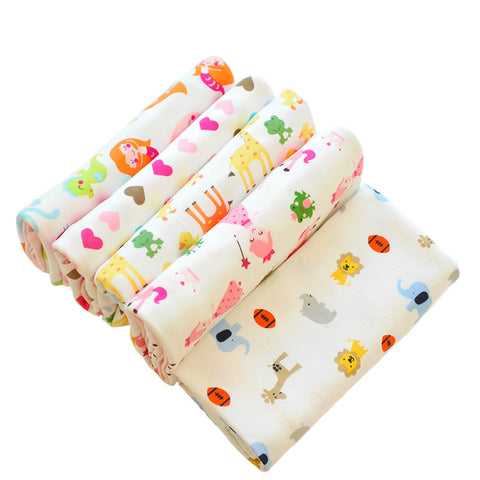 Combed Cotton Multi-functional Baby Wrap Blankets