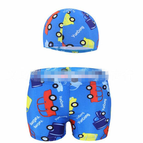 Boy's Printed Swimwear And Bathing Suit