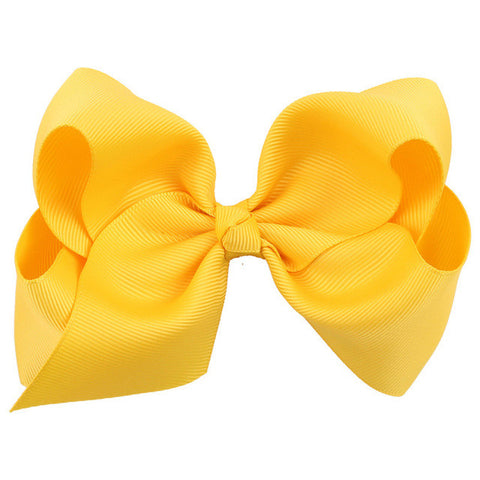 Ribbon Bow Girls hair clips Accessories