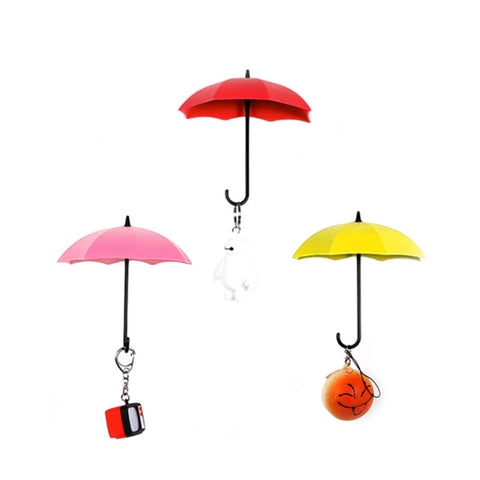 Umbrella Pattern Decorative & Colorful Hook
