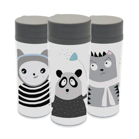 Plastic Insulated Cartoon Animal Personalized Mug/Water Bottles