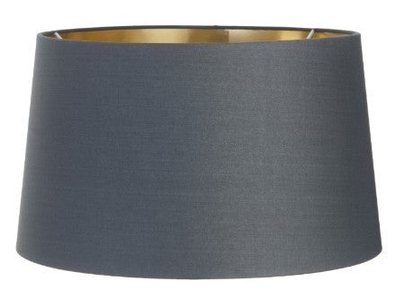 Charcoal Shade With Gold Lining (34/40/48cm)