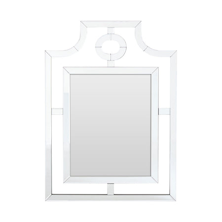 Curved Glass Wall Mirror