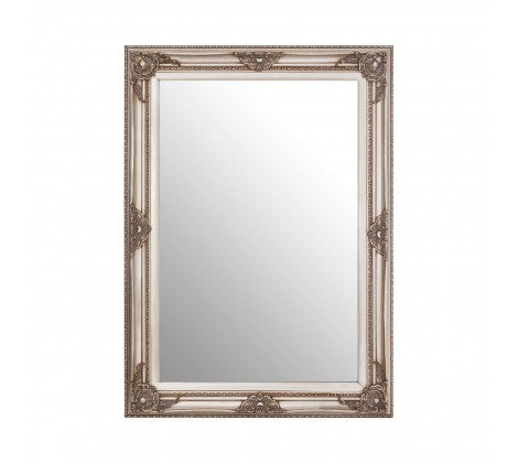 Grey Ornate Mirror