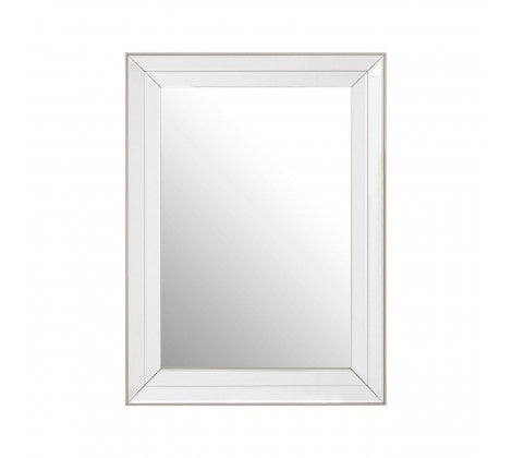 Glass Framed Mirror