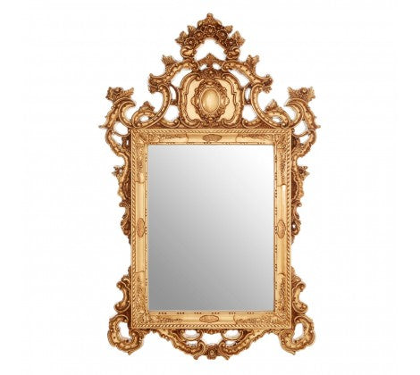 Ornae Gold Carved Mirror