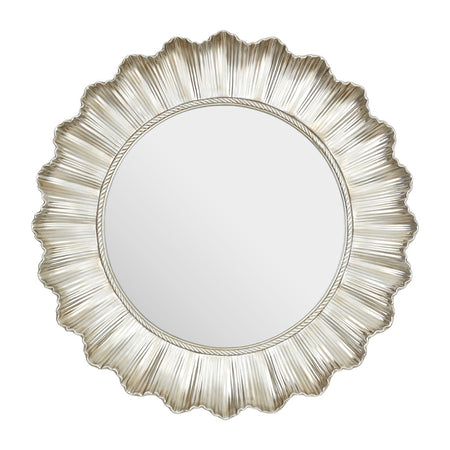 Silver Shard Glass Sun Mirror