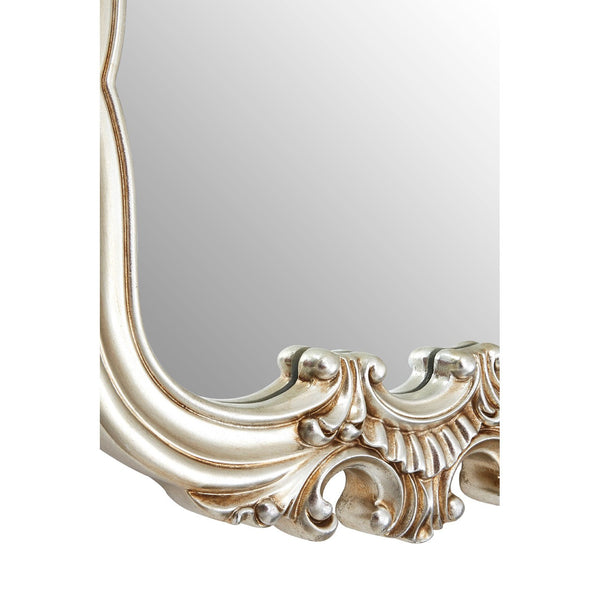 Champagne Crested Wall Mirror
