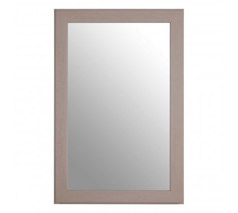 Grey Rectangular Mirror