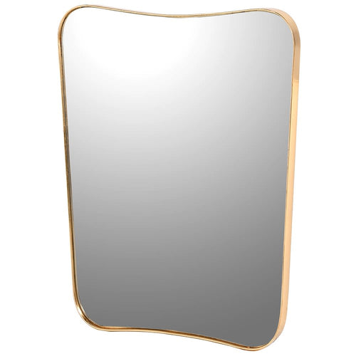 Gilt Curved Mirror