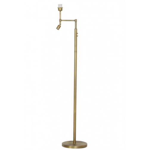 Antique Bronze Metal Floor Lamp with Fitted Directional LED Light