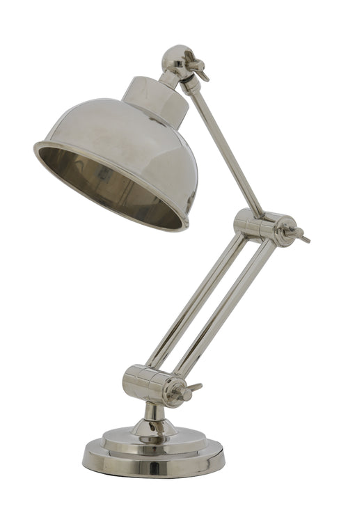 Articulated Nickel Desk Lamp