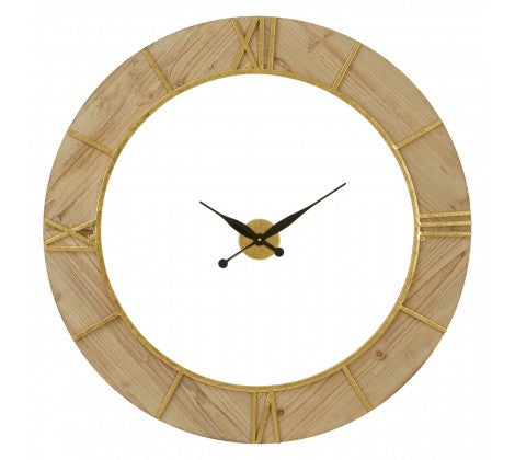 Wooden Framed Clock
