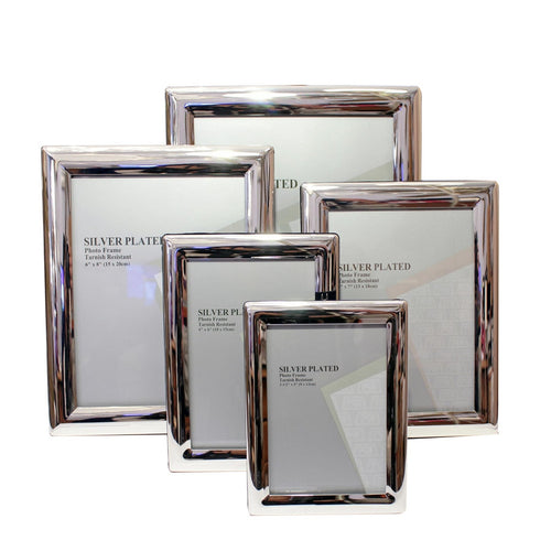 Silverplate Photo Frame