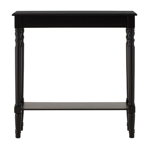 Classic Black Hall Table W: 80 cm