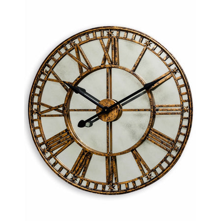 Black & Copper Wall Clock