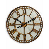 Gold Antique Mirrored Clock 70cm