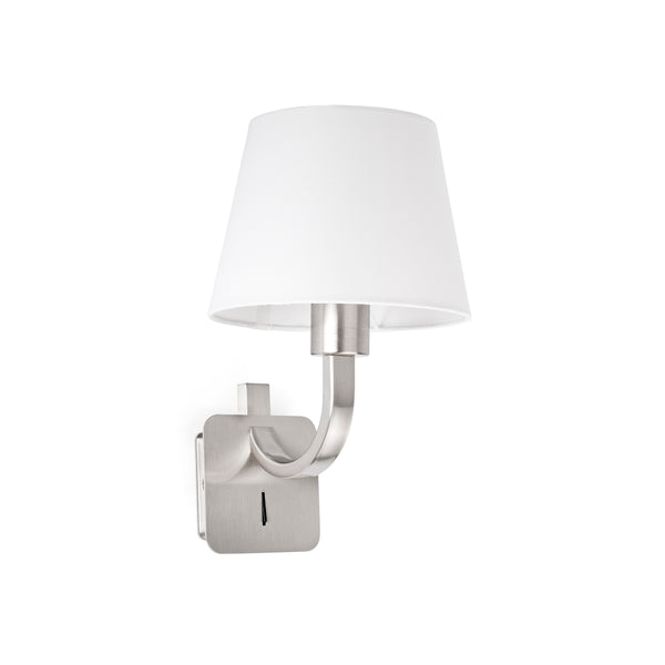 Matt Nickel Wall Lamp