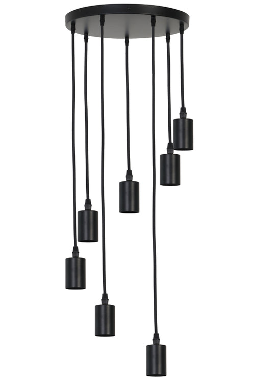 7 Light Circular Pendant