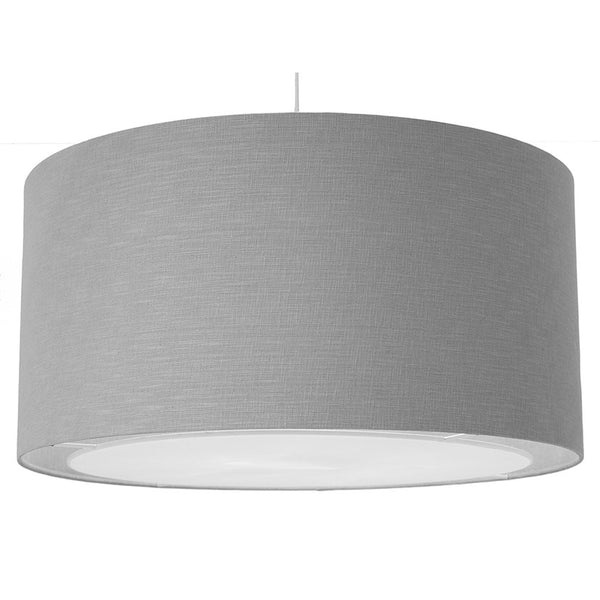 Linen Easy Fit Pendant with Diffuser