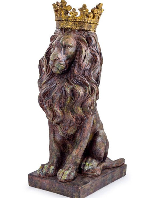 Royal Bronze Lion Figure