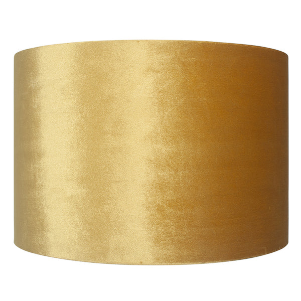 Large Gold Velvet Lamp/Pendant Shade