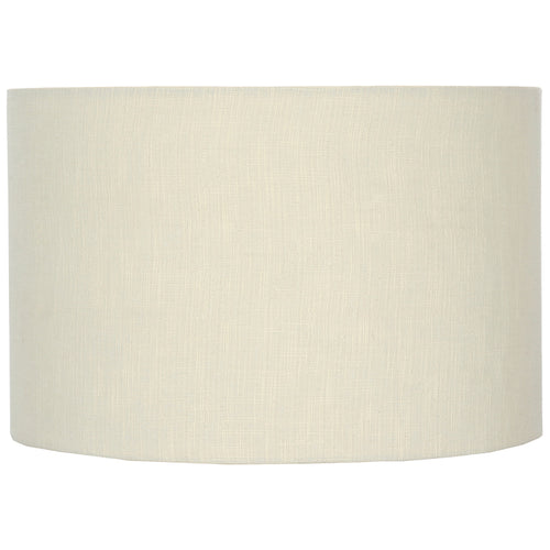 Large Cream Linen Shade 50 cm