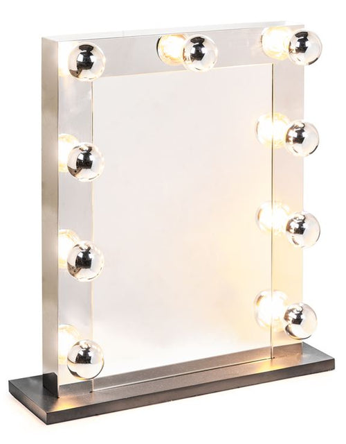 Chrome Light Up Mirror