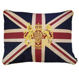 Large Union Jack Cushion - Crest 69 x 53 cm