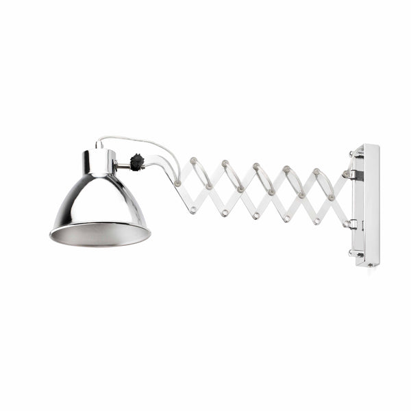 Chrome Extensible Wall Lamp