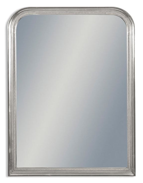 Silver Beaded Mirror